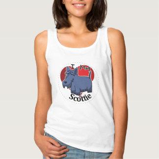 Camiseta Con Tirantes Amo mi perro divertido y lindo adorable feliz del