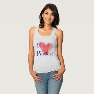 Camiseta Con Tirantes Amor de Pilates