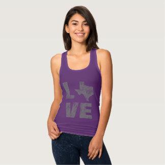 Camiseta Con Tirantes Amor de Tejas