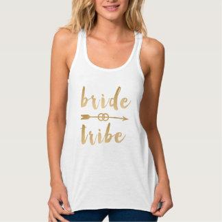 Camiseta Con Tirantes anillos de bodas elegantes de la flecha de la