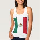 Camiseta Con Tirantes Bandera de México