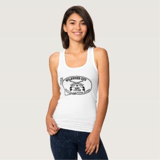 Camiseta Con Tirantes barra occidental del logotipo del wildwood de la