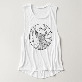 """Camiseta Con Tirantes """"Be Wild"""" una noche en la montaña y el bosque"""