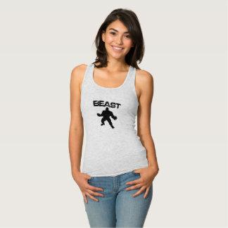 Camiseta Con Tirantes Bestia divertida