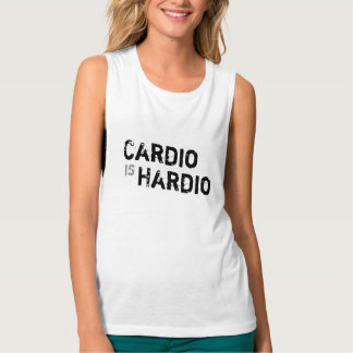 Camiseta Con Tirantes Cardiio es el tanque del entrenamiento del músculo