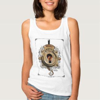Camiseta Con Tirantes Cerradura digna de Muggle con la bestia fantástica