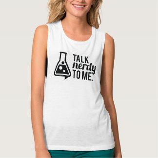 Camiseta Con Tirantes Charla Nerdy
