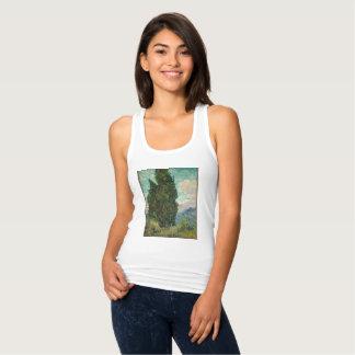 Camiseta Con Tirantes Cipreses de Van Gogh