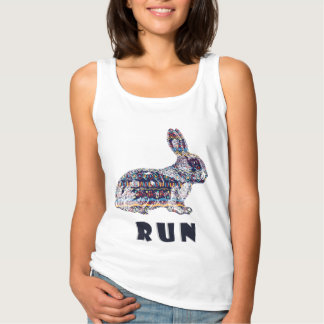 Camiseta Con Tirantes Conejo tribal