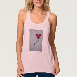 Camiseta Con Tirantes Corazón