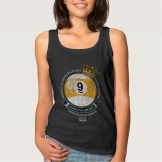 Camiseta Con Tirantes Corona de la bola de APA 9