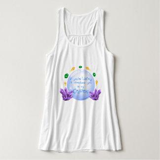 Camiseta Con Tirantes Cristal afortunado