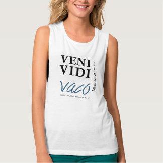 Camiseta Con Tirantes Demotivational Veni, Vidi, Vaco