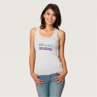 Camiseta Con Tirantes DEPLORABLES adorable