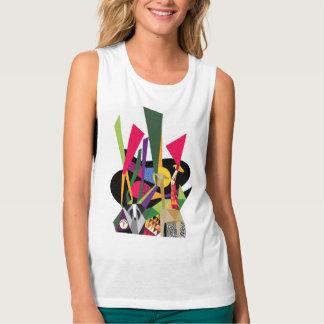 Camiseta Con Tirantes Diseño popular de la NUEVA alegría de la selva de