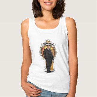 Camiseta Con Tirantes El panel del art déco de Jacob Kowalski