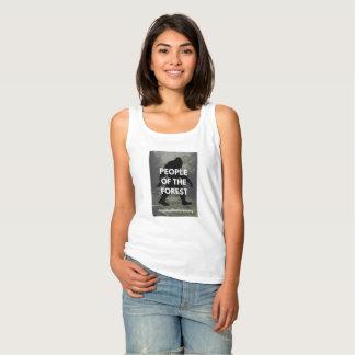 Camiseta Con Tirantes El tanque blanco de Sasquatch de las señoras
