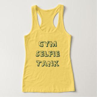 Camiseta Con Tirantes El tanque de Selfie del gimnasio