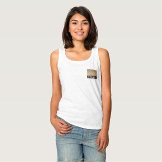 Camiseta Con Tirantes El tanque del blanco de Insta-Alaska
