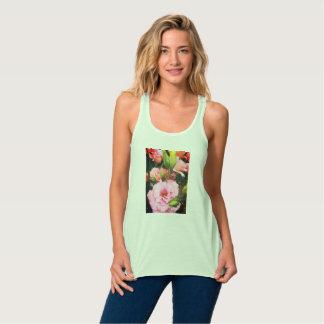 Camiseta Con Tirantes El tanque floral de Flowy