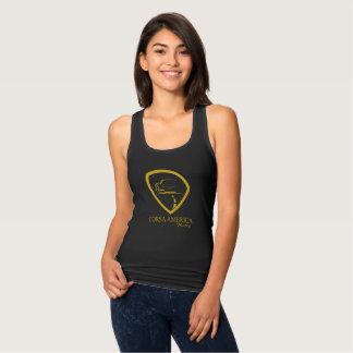 Camiseta Con Tirantes El tanque negro de las señoras Corsa