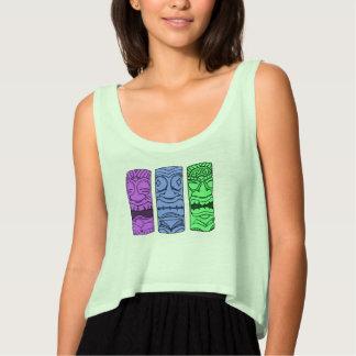 Camiseta Con Tirantes El tanque principal de la cosecha de Tiki del arte