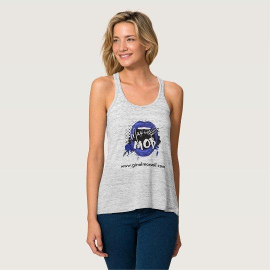 Camiseta Con Tirantes El tanque que fluye de la multitud del maxwell