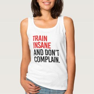 Camiseta Con Tirantes El tren insano y no se queja
