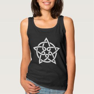 Camiseta Con Tirantes estrella céltica