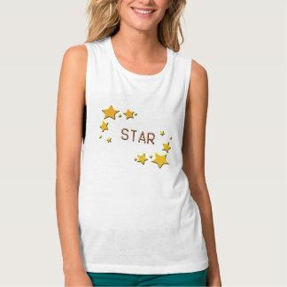 Camiseta Con Tirantes estrellas