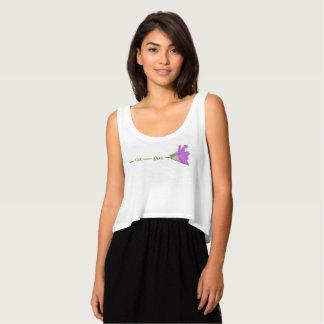 Camiseta Con Tirantes Flor libre viva