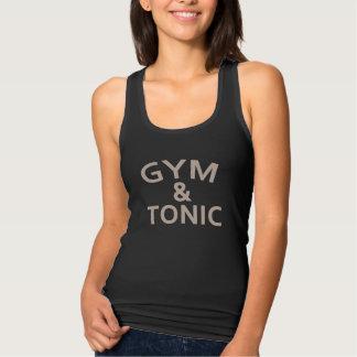 Camiseta Con Tirantes Gimnasio y tónico