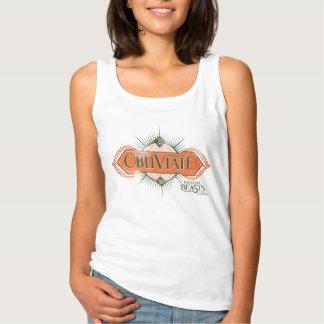 Camiseta Con Tirantes Gráfico anaranjado del encanto de Obliviate del