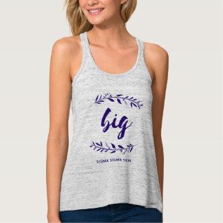 Camiseta Con Tirantes Guirnalda grande de la sigma de la sigma de la
