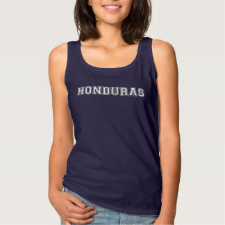 Camiseta Con Tirantes Honduras