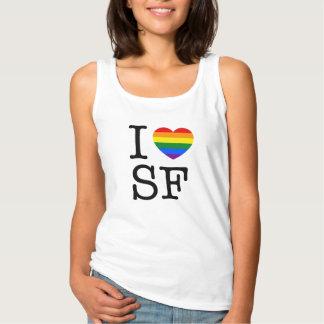 Camiseta Con Tirantes I corazón SF
