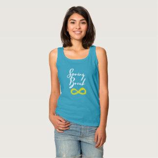 Camiseta Con Tirantes Infinito de las vacaciones de primavera