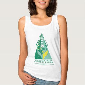 Camiseta Con Tirantes La fuerza aérea del búho