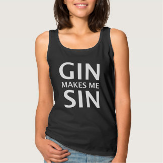 Camiseta Con Tirantes La ginebra hace que Sin