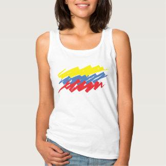 Camiseta Con Tirantes La tricolor