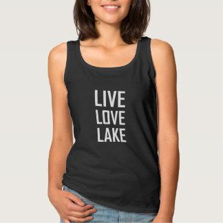 Camiseta Con Tirantes Lago vivo love