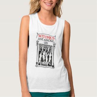 Camiseta Con Tirantes Las brujas viven entre nosotros