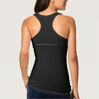 Camiseta Con Tirantes Los narradores dan buena tela aural del negro del