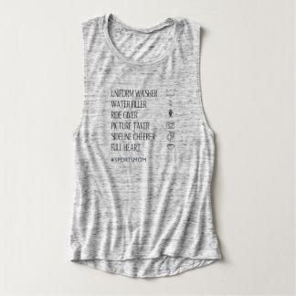 Camiseta Con Tirantes Mamá personalizada de los deportes
