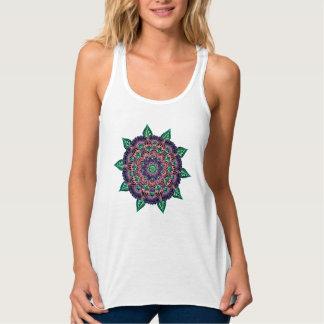 Camiseta Con Tirantes Mandala de la sandía