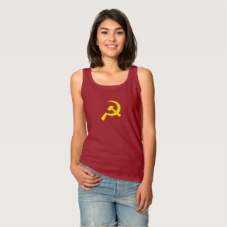 Camiseta Con Tirantes Martillo y hoz