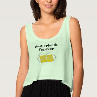 Camiseta Con Tirantes Mejores amigos para siempre