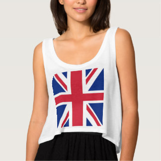 Camiseta Con Tirantes moda fresca moderna de Londres de la bandera del
