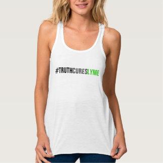 Camiseta Con Tirantes Mujeres del TCL Tanque-Blancas