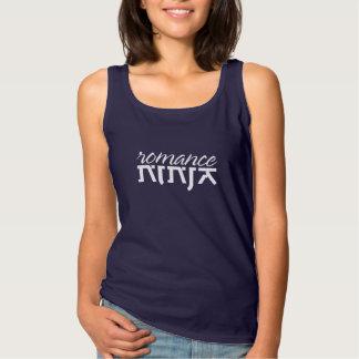 """Camiseta Con Tirantes """"Ninja romántico """""""